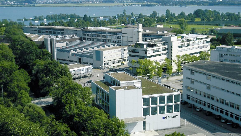 Geberit Europäischer Marktführer für Sanitärprodukte