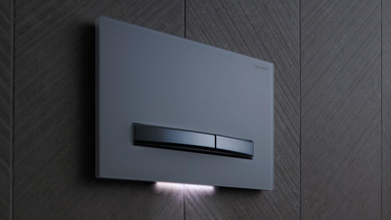 Plaque de déclenchement Sigma50 avec extraction des odeurs et lumière d'orientation