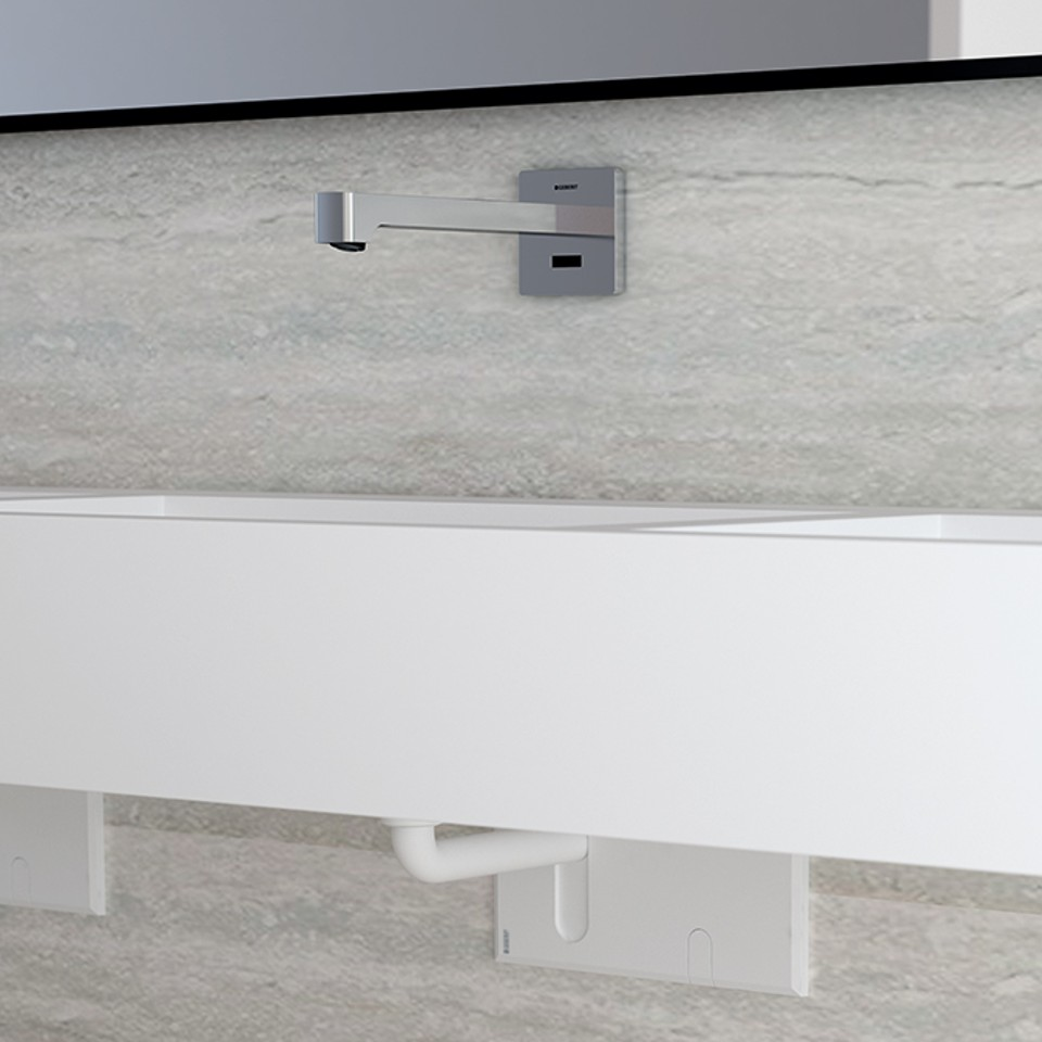Geberit electronic washbasin taps