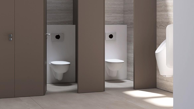 Geberit Sigma80 public washroom