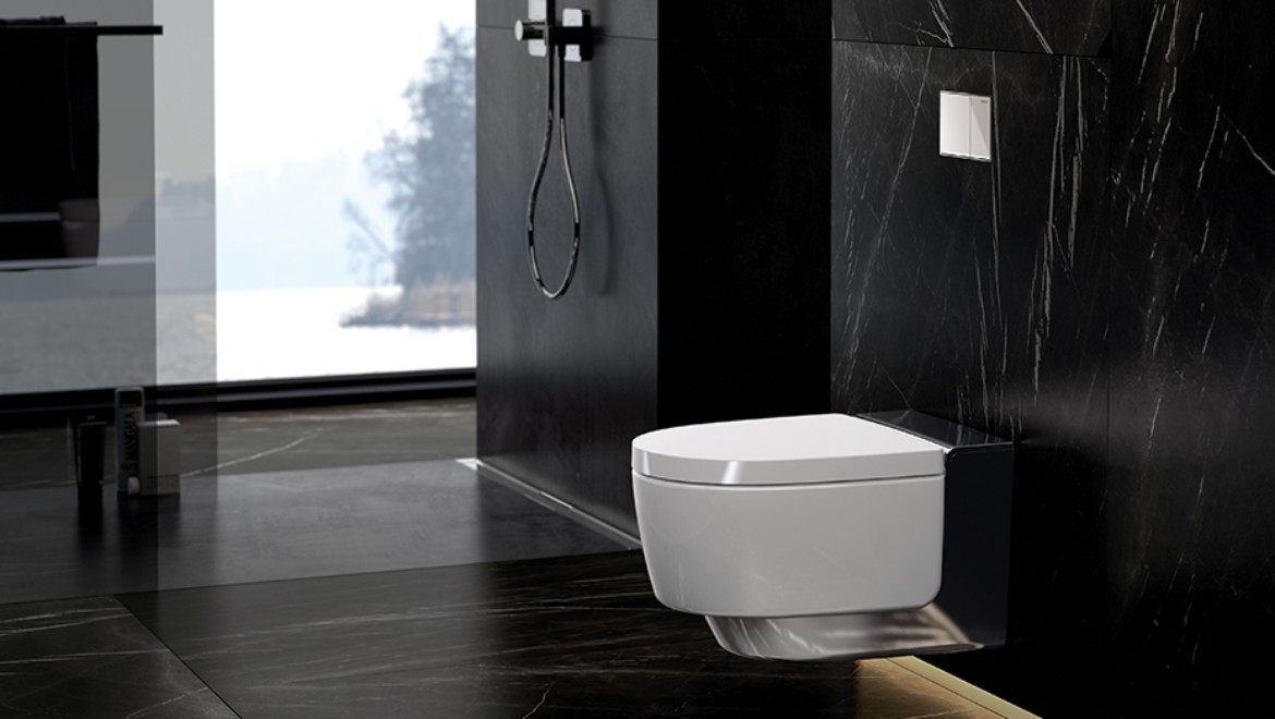 Geberit AquaClean Mera with mains connection