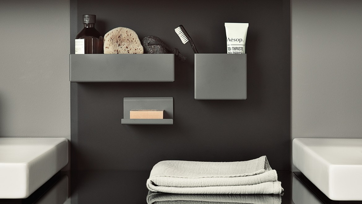 Geberit Acanto magnetic wall