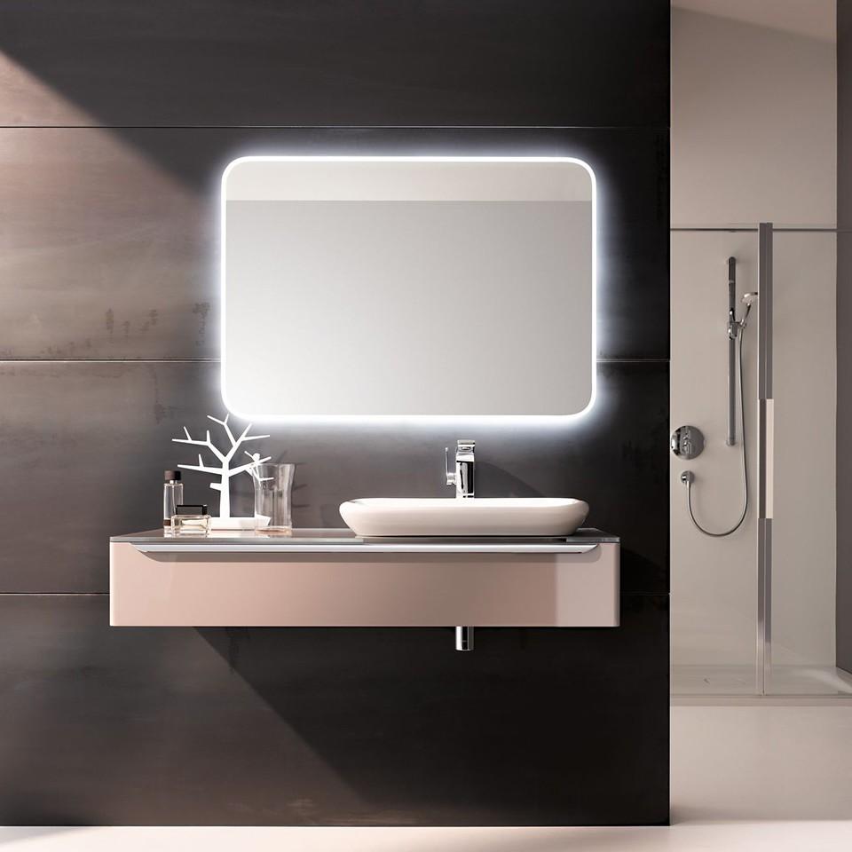 Geberit myDay washbasin and mirror