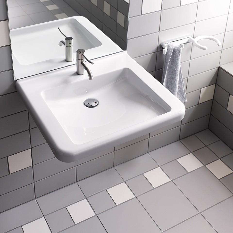 Geberit Renova Comfort Waschtisch barrierefrei