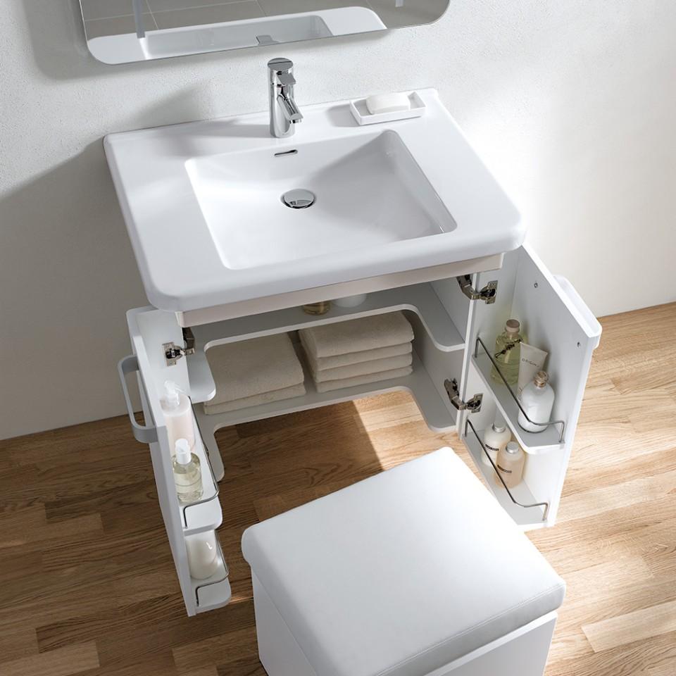 Geberit Renova Comfort Waschtisch mit Stauraum