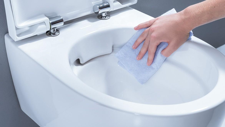 Geberit Renova Plan Rim Free Toilet
