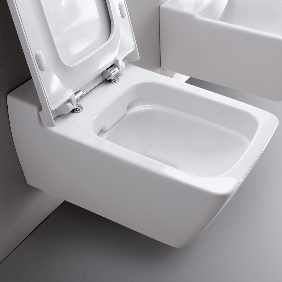 Geberit Xeno2 toilet with open lid