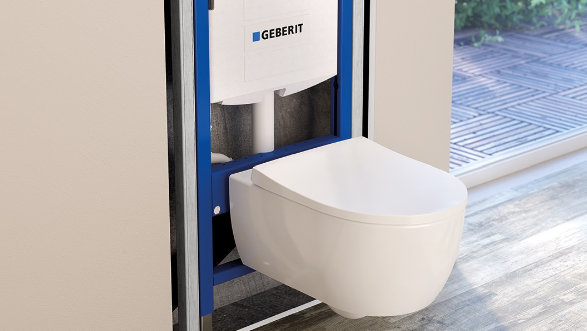 Geberit inwall concealed cistern