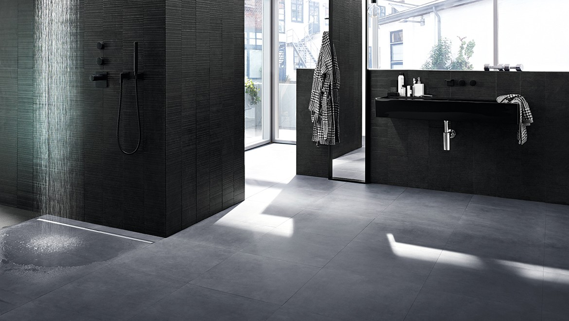 Bathroom with Geberit CleanLine