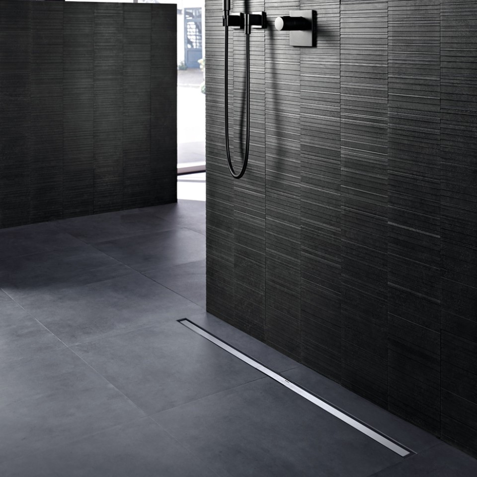 Geberit shower channels of the CleanLine series