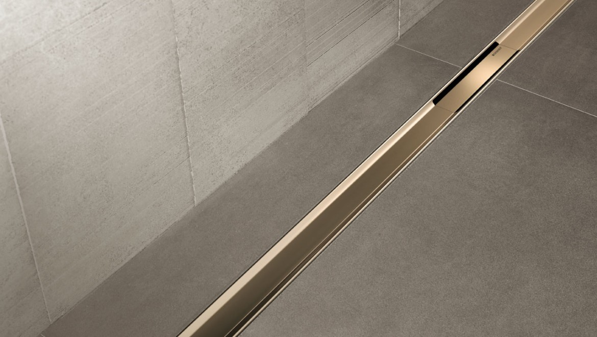 Geberit Duschrinne CleanLine80 Champagner