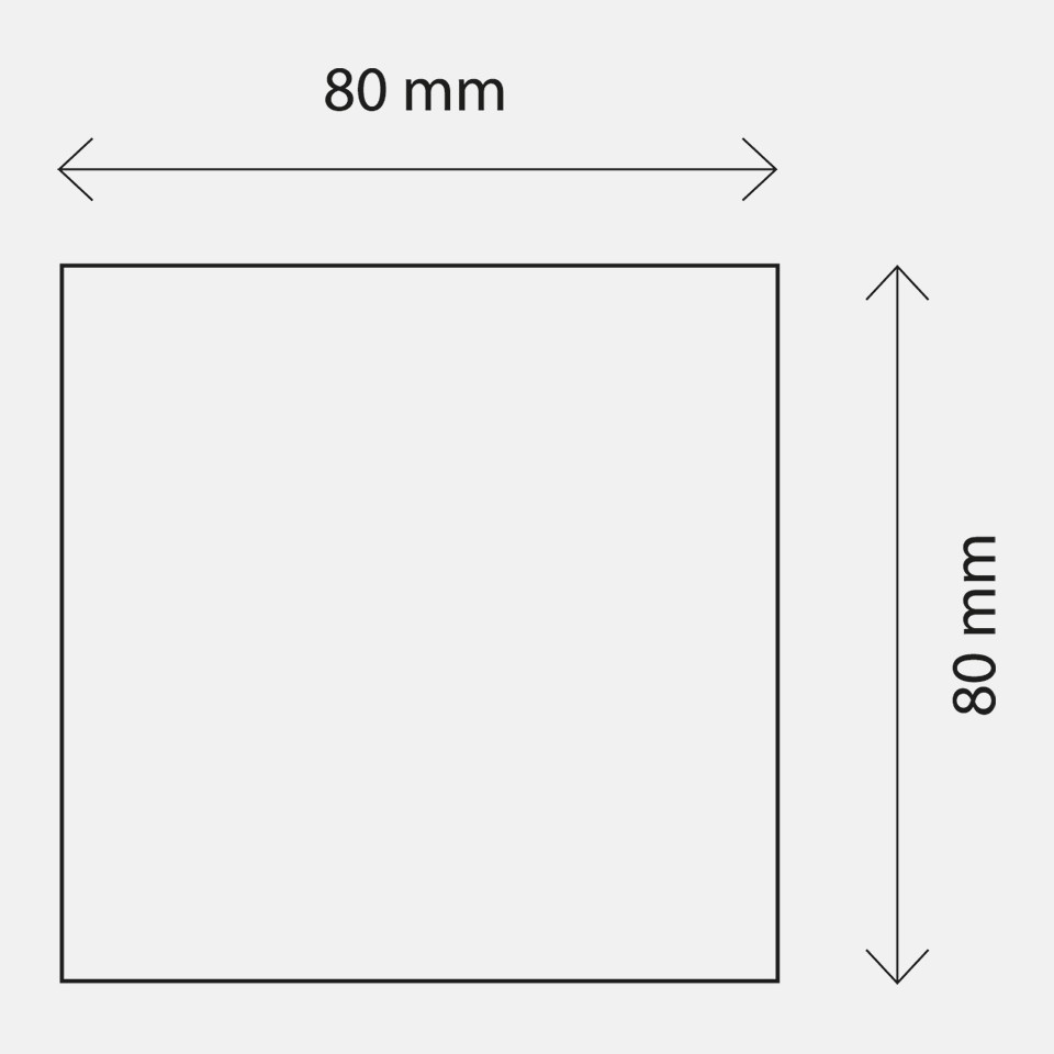 Dimensions of the Geberit shower floor drain