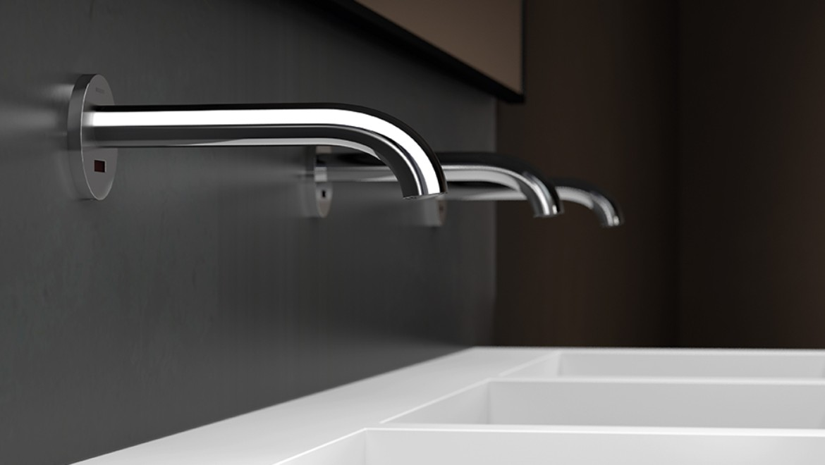 Geberit Piave tap system wall-mounted tap for washbasins