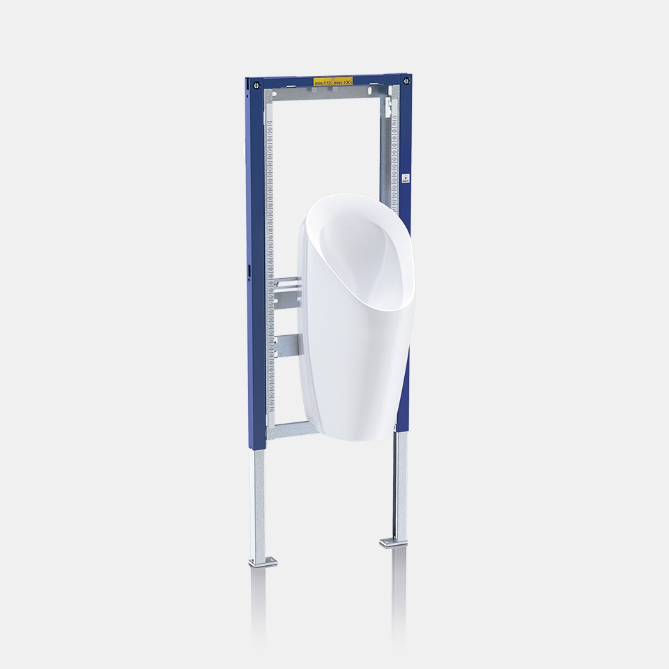 Geberit Duofix installation system for waterless urinals
