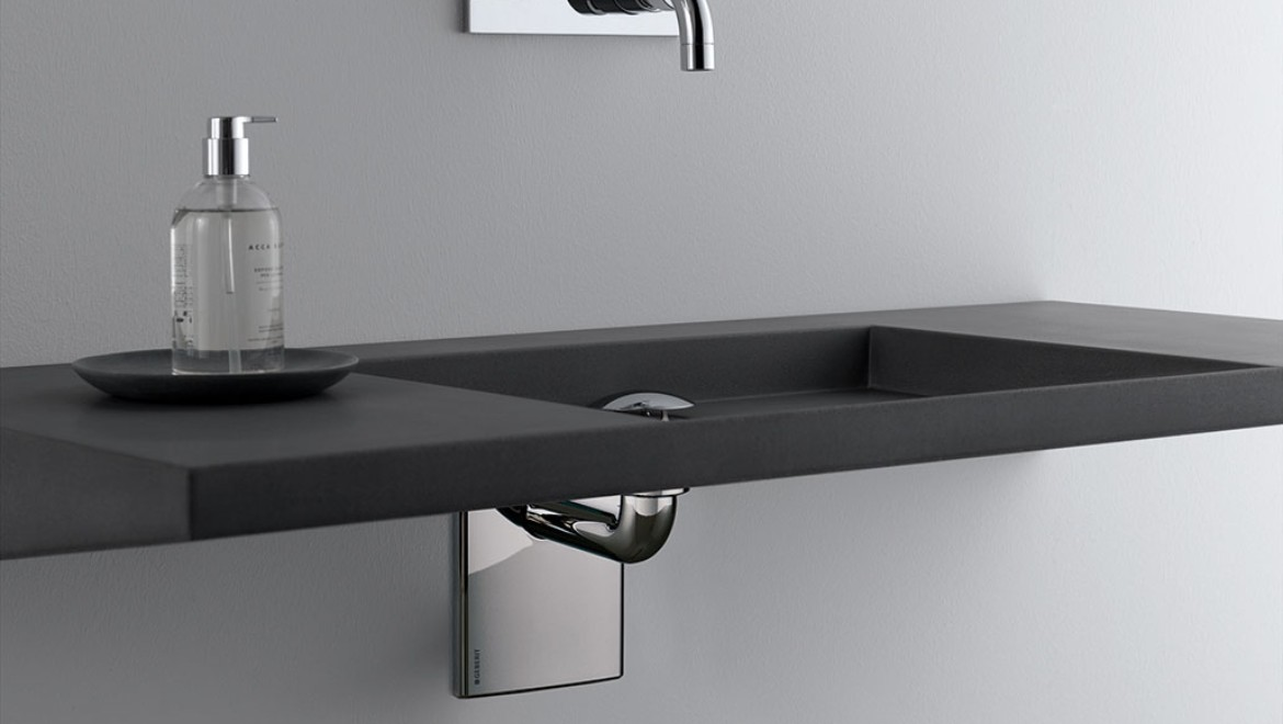 Geberit traps for washbasins