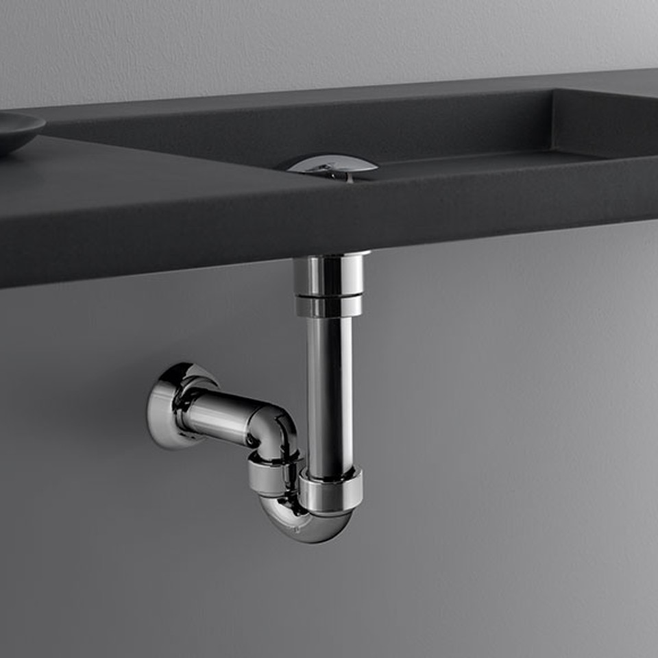 Geberit tubular trap for washbasins