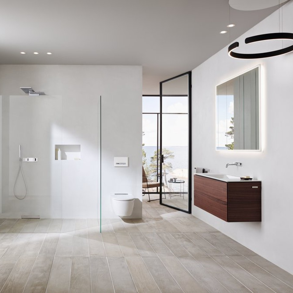 More space, cleanliness and flexibility in the bathroom thanks to Geberit ONE products