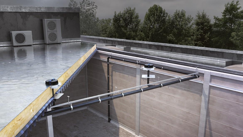 Geberit Pluvia Installation, Berechnungsanfrage