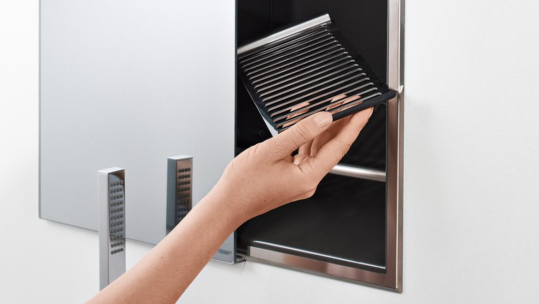 Geberit ONE Duschlösungen mit Nischenablagebox