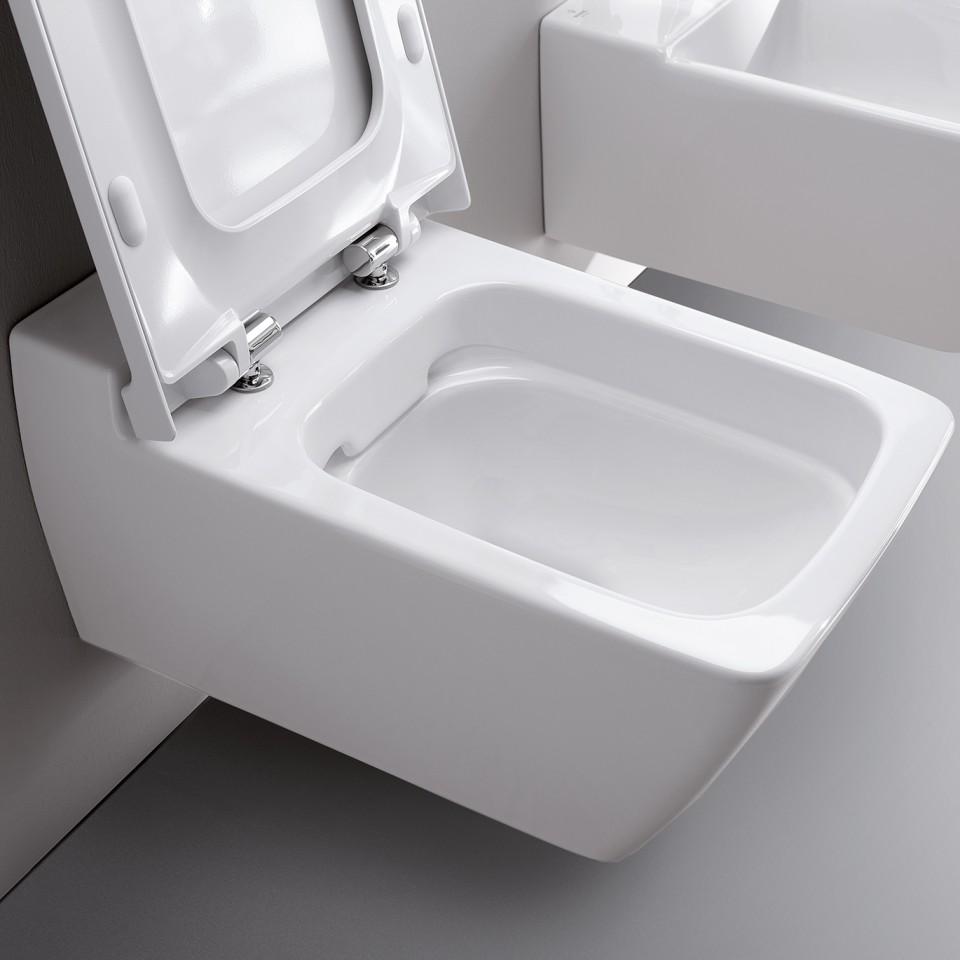 Rimfree® wc zonder spoelrand