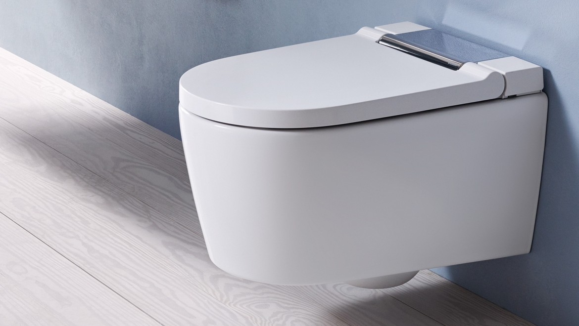 Geberit AquaClean Sela – a shower toilet of the next generation