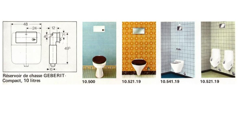 Extrait des « Informations Geberit » d'octobre 1974