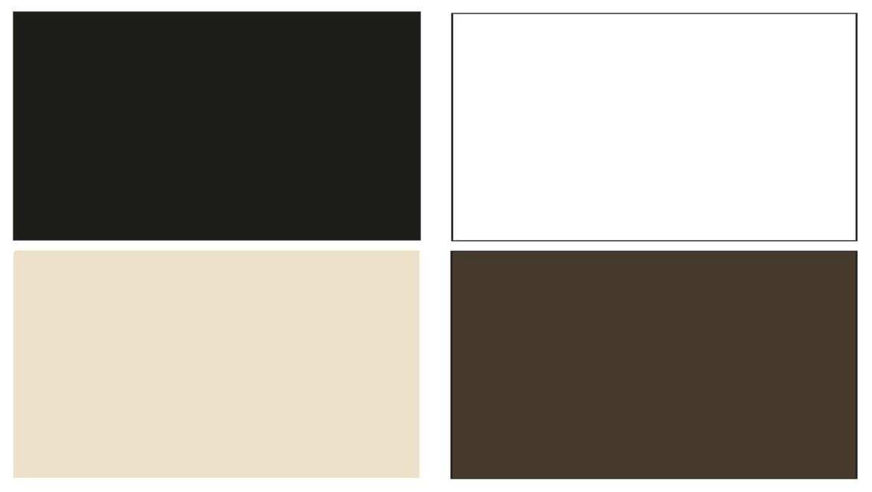 Geberit Monolith in den Farben schwarz, weiß, sand und umbra