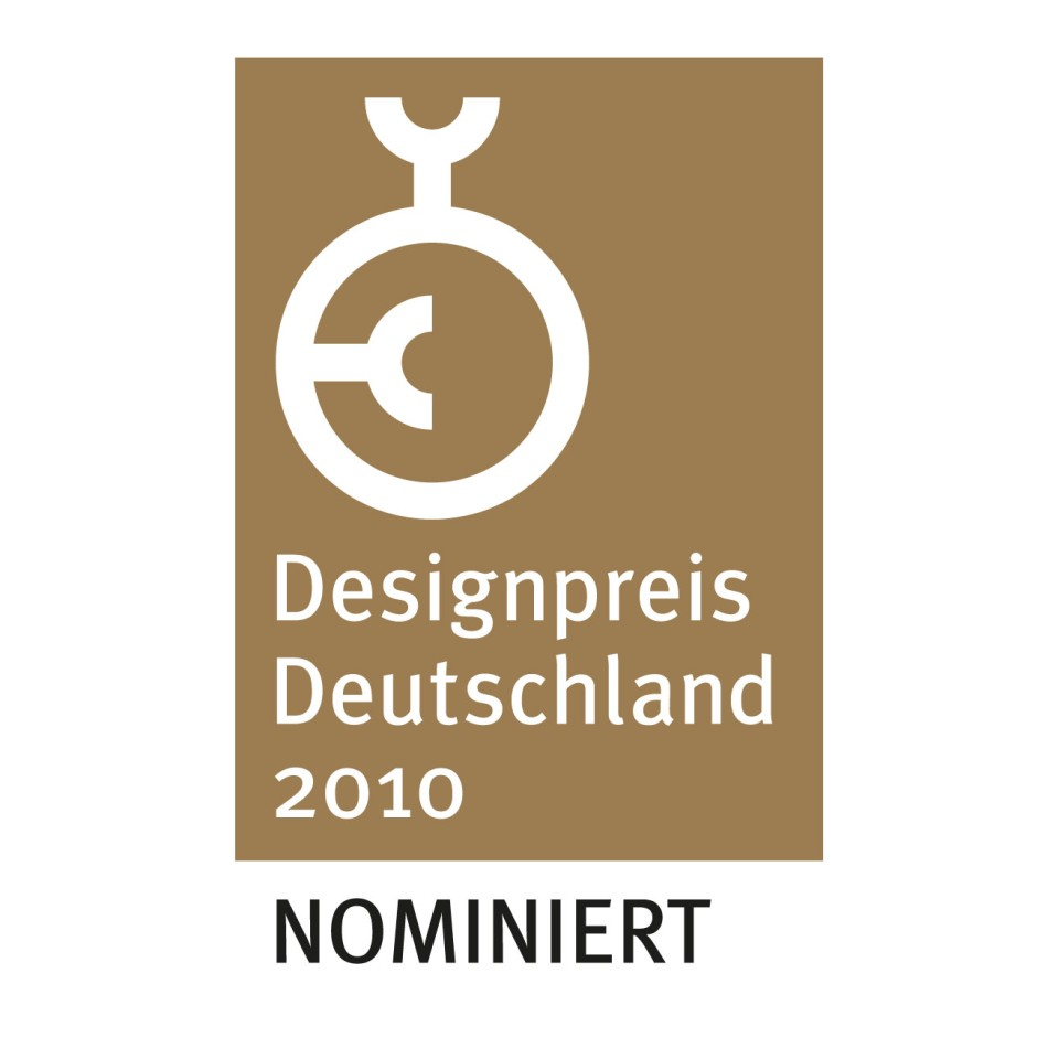 Nomineret til German Design Award 2010