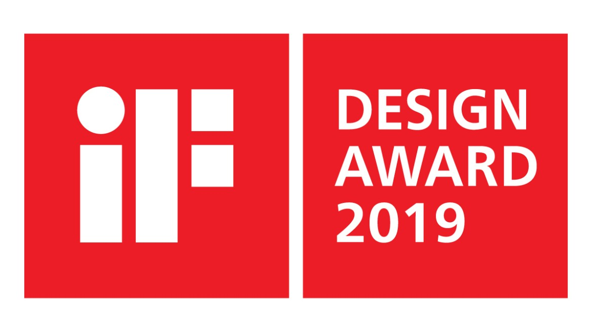 Prix IF Design Award 2019 et Red Dot Design Award 2019