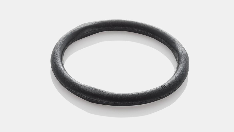 טבעת אטימה שחורה למתקנים כלליים עם אביזרי נחושת