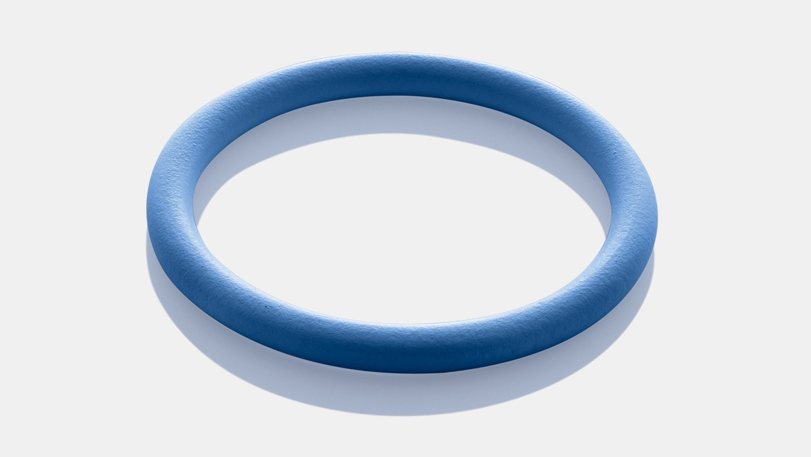 Blue seal ring for solar installation with Mapress Stainless Steel pressfittings